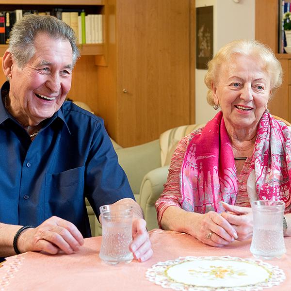 Im Gespräch mit Elfriede Chovanec und Kurt Otter