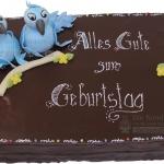 Geburtstag Mit Blauen Voegel WEB