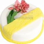 Gelbe Schaerpe WEB