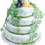 Hochzeit 4 Stoeckig Mit Efeu Ente Und Wolf WEB