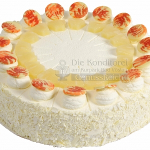 Torte Ananas Ganz WEB