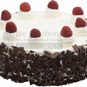 Torte Diabetiker Schokolade Himbeer Ganz WEB