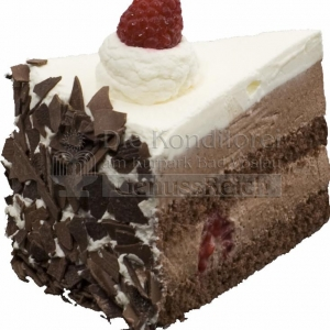 Torte Diabetiker Schokolade Himbeer Stueck WEB