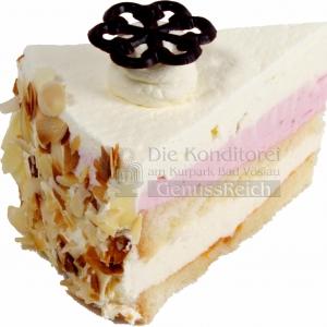Torte Diabetiker Waldbeer Joghurt Stueck WEB