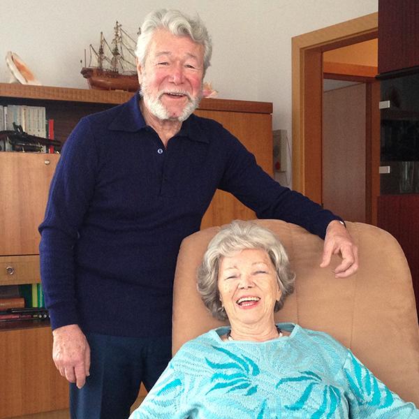 Im Gespräch mit Elfriede und Erich Puchner
